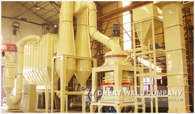 Three-Ring Powder Mill Production Line